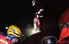 Rescaten il·lesos dos escaladors atrapats una nit al Solsonès