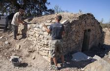 Preixana recupera dos antiguas cabañas