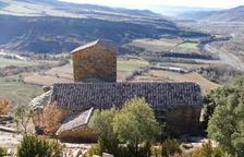 Tremp inaugura la restauració de l'església romànica d'Orrit