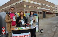 Campaña para potenciar el reciclaje en Aitona con talleres y conferencias