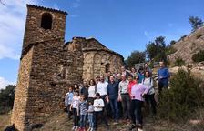 Tremp estrena la restauració de l'ermita d'Orrit