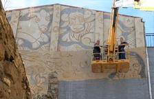 El Pessebre Vivent de Linyola estrenará un nuevo mural