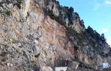 El Govern ve riesgo de más aludes de rocas en el acceso a Port del Comte y pide actuar ya