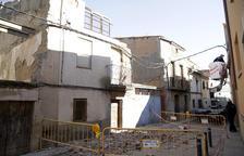 Se desploma una casa deshabitada en Fondarella