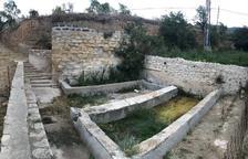 Restauren l'antic safareig d'Os de Balaguer