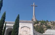 Darrere de la creu del Valle de los Caídos