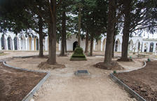 Obras en los cementerios de Tàrrega y Preixana
