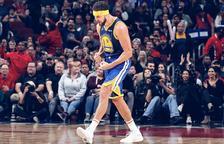 Klay Thompson anota 14 triples amb els Warriors i bat el rècord de l'NBA