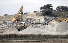 Knauf explotará durante 30 años el yeso de 50 hectáreas de Biosca