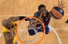 El Barça aconsegueix amb el Maccabi la tercera victòria seguida a Europa