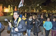 Tàrrega, Tremp y Bellpuig protestan por las condenas que pide Fiscalía
