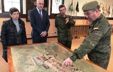 Defensa potenciará el uso de la academia militar de Talarn