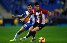 El Espanyol se encarama a la segunda posición tras derrotar al Athletic
