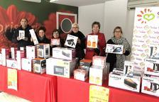 Els comerciants de les Borges sortegen 45 electrodomèstics entre els clients