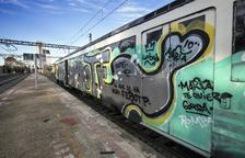 Un altre acte vandàlic a la línia de Manresa obliga a suspendre un tren de Cervera a Lleida