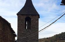 Obras para rehabilitar la iglesia de Sant Martí de Bescaran