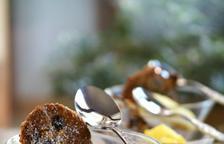 Crema de xocolata amb galeta de músic i gelats