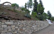 Tàrrega completa la mejora del paseo de Magí Manonelles, en el Parc de Sant Eloi