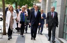 Mas, Rigau, Homs y Ortega, condenados a pagar 4,9 millones por organizar el 9-N