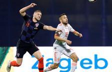 España decepciona en Croacia
