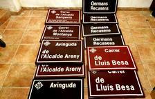 Larrosa anuncia la retirada de quatre dels nou noms franquistes de carrers