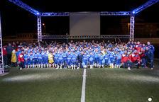 La Escola de Futbol Baix Segrià presenta a todos sus equipos, integrados por 230 jugadores y jugadoras