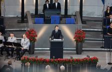 Macron quiere liderar con Merkel una Europa unida
