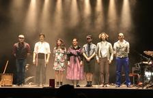 Muntatge del cicle 'Fem Dansa' a Juneda