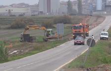 La carretera de Linyola a Bellcaire, cinc mesos tancada