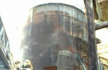 Arde un silo con cereal en Castellnou de Seana