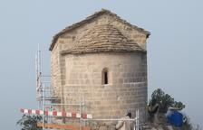 L'ermita de la Pertusa, a punt després de cinc mesos d'obres