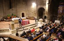 VÍDEO. Alonso-Cuevillas omple l'església de Linyola
