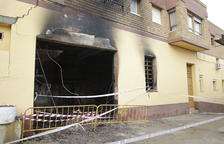 Un incendio por una caldera daña una vivienda y un almacén en Soses