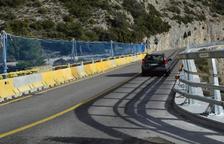 La reforma del puente de la C-14 en Peramola sigue el calendario previsto