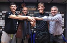 El Força Lleida ata a otras dos promesas por tres años