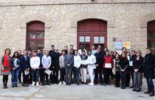 Entrega de diplomes als alumnes de la Casa dels Oficis