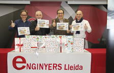 Enginyers de Lleida i Trotallunàtics, solidaris amb els més petits