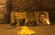 Denuncien vandalisme contra símbols independentistes al Pallars