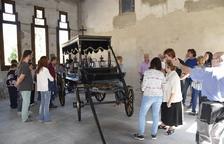 Obres per ampliar el cementiri de Linyola