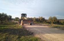 La Granadella repara más de 4,5 km de caminos