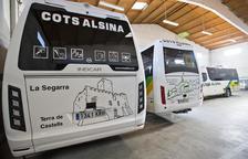 Promoció turística de Cervera al bus