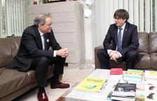 Puigdemont i Torra insisteixen en el 'no' independentista als comptes