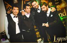 Versiones con la nueva banda de Lleida Contigüo, en el JCA Alpicat