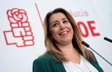 Susana Díaz dice que seguirá al frente del PSOE andaluz y que será candidata