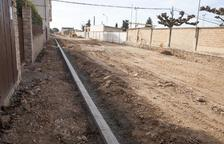 Castellserà acabará la reforma de la avenida de l'Esport antes de verano