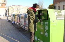 Mollerussa recicla fins a un total de 36 tones de roba utilitzada