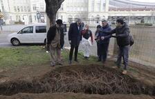 Un mes d'obres per reordenar la plaça Ramon Berenguer IV i Anselm Clavé