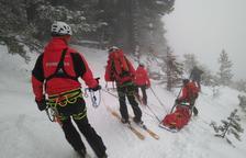 Muere el esquiador atrapado por un alud en Aran