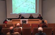Alegaciones y protesta contra la subestación de REE en Isona