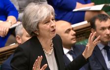 El Parlamento presiona a May para que aborte un Brexit sin acuerdo